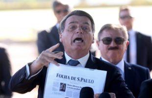 ataques do governo Bolsonaro contra a imprensa em 2020