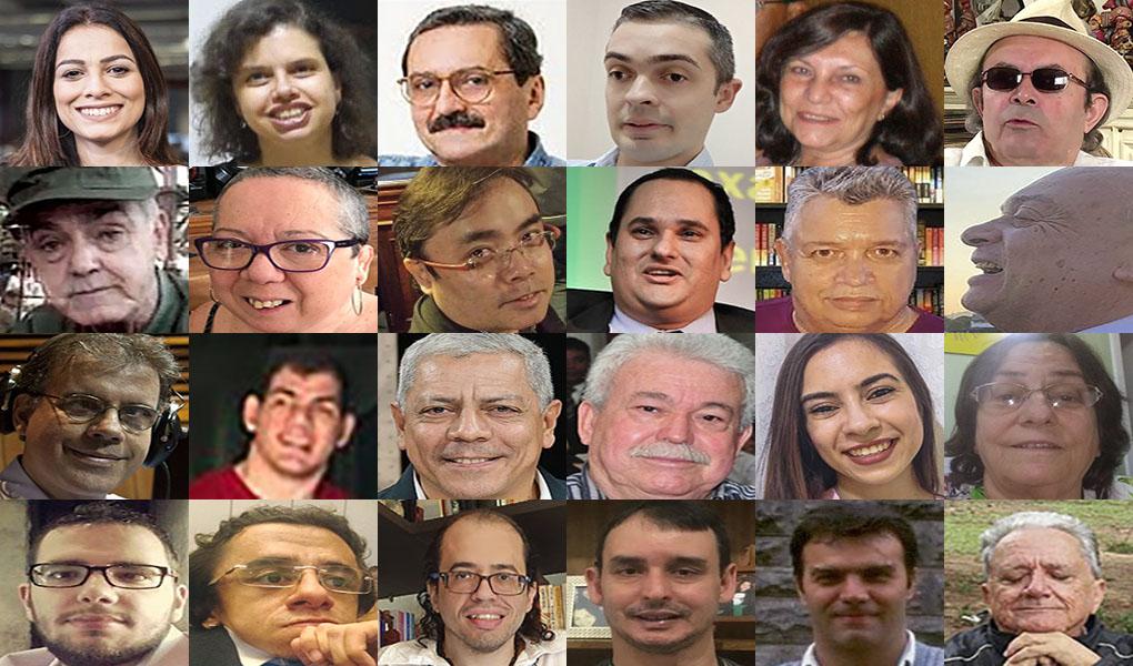 Quase 30 jornalistas contaram sua história no Especial do Dia do Jornalista
