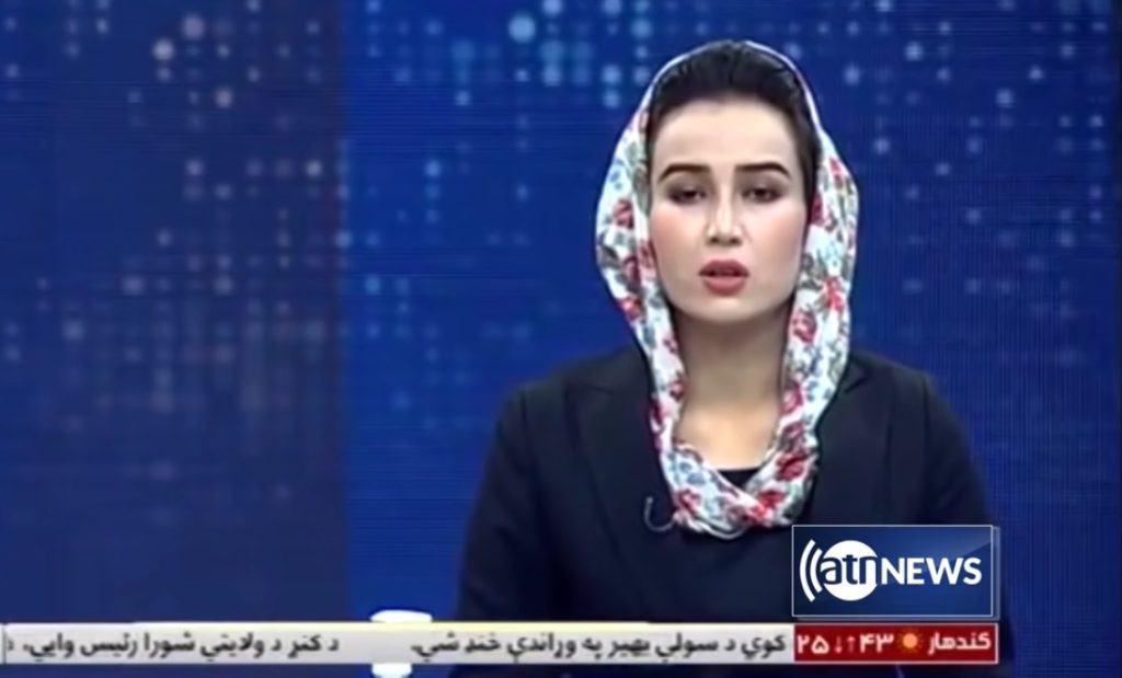 Mina Khairi, 27, era apresentadora do canal Ariana News, do Afeganistão